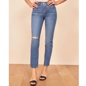 [Reformation] high-rise Julia Sonoma jeans